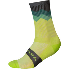 Endura Spikes Socks Men bilious green